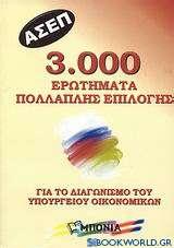 ΑΣΕΠ: 3.000 ερωτήματα πολλαπλής επιλογής για το διαγωνισμό του Υπουργείου Οικονομικών