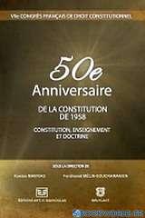 50e anniversaire de la constitution de 1958