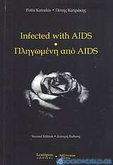 Infected with AIDS