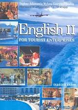 English II for Tourist Enterprises