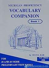 Michigan Proficiency Vocabulary Companion