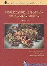 Πίνακες σύνθεσης τροφίμων και ελληνικών φαγητών