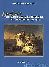 Χρονολόγιο των σημαντικότερων γεγονότων της Επανάστασης του 1821