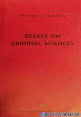 Essays on Criminal Sciences