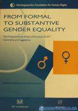 From Formal to Substantive Gender Equality
