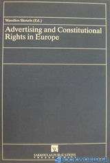 Advertising and Constitutional Rghts in Europe