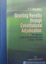 Granting Benefits Through Constitutional Adjudication